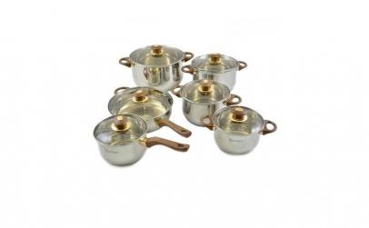 Set vase din inox Grunberg 12 piese,4