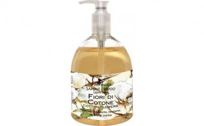 Sapun lichid cu flori de bumbac, 500 ml