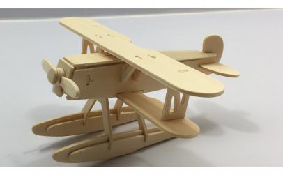 Puzzle 3D constructie avion HE-51