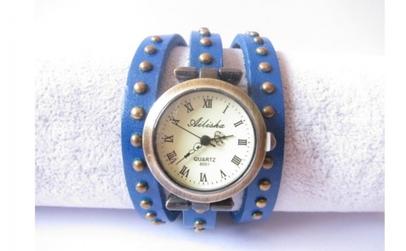 Ceas Vintage albastru