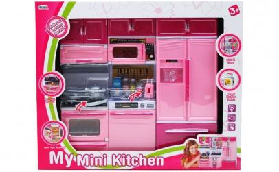 Mini bucatarie electronica pentru copii