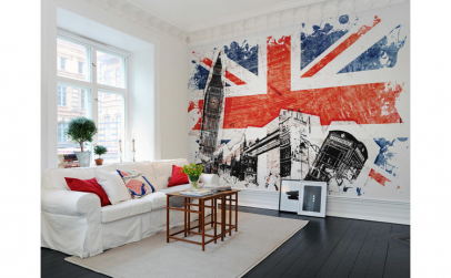 Fototapet Steagul Marii Britanii R10781