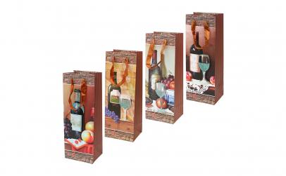 Set 4 pungi 3D cadou pentru bauturi