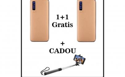 1+1 gratis, baterie externa