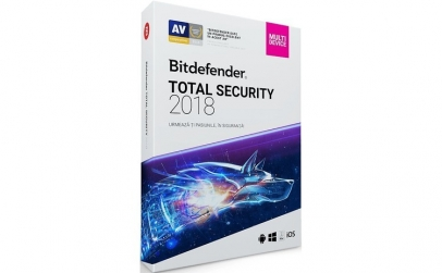 Joc Bitdefender Total Security 2018 1an