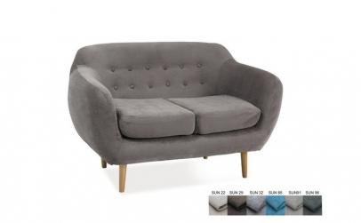 Canapea tapitata cu stofa Emma II
