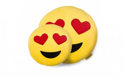 Perna Decorativa Emoji Indragostit