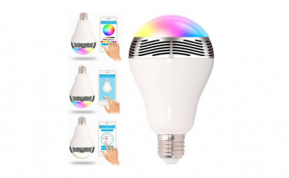 Bec fara fir cu LED-uri, wireless si