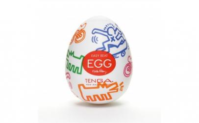 Vagin Masturbator Keith Haring Egg