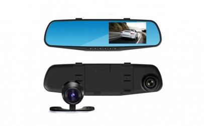 Monitor 4.3 inch tip oglinda cu 2