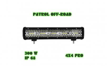 Led bar 300w lumina 9D