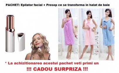 Pachet Epilator facial + Prosop