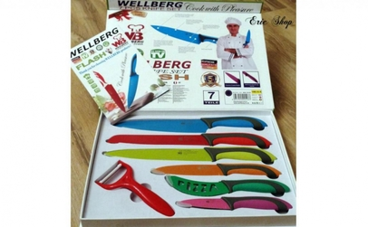 Set 7 cutite Wellberg - calitate germana