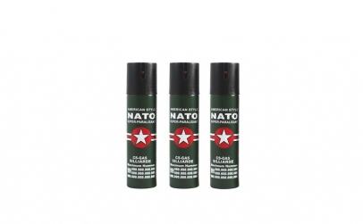 Set 3 sprayuri paralizante, NATO, 60 ml