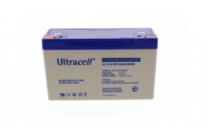 Acumulator plumb acid Ultracell 6V 12Ah