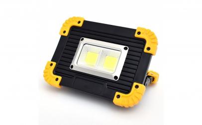 Proiector portabil LED 20W cu acumulator