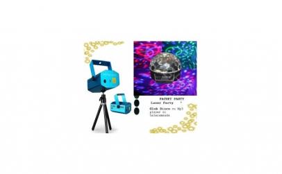 Pachet disco: Laser disco cu doua culori