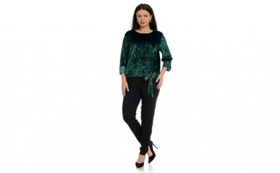 Bluza Dama Verde catifea