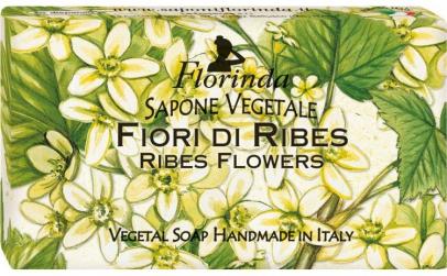 Sapun vegetal cu flori de coacaz, 100 g