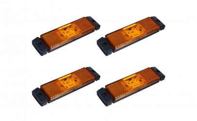 Set 4 lampi gabarit 130x32 cu 4 LED-uri