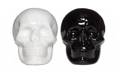 Set 2 solnite  model craniu  ceramica
