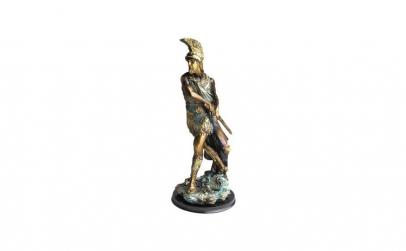 Statueta  Soldat roman cu sabie in teaca