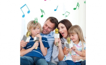 Microfon Wireless cu sistem Karaoke