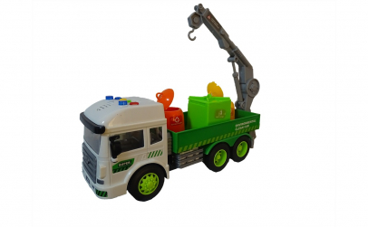 Camion de jucarie cu macara