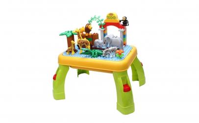 Masuta educativa tip Lego Zoo