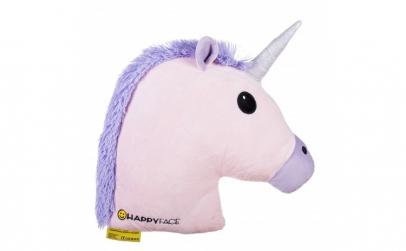 Perna decorativa Emoji Unicorn Pink