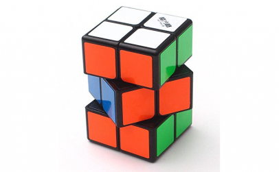 Cub Rubik 2x2x3 QiYi profesional  black,
