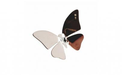 Set 6 fluturi 3D, autocolant de perete