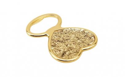 Deschizator de sticla, auriu, 1 buc