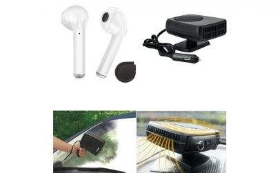 Aeroterma Auto + Casca Bluetooth I7