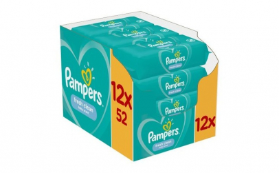Servetele umede Pampers Fresh Clean,