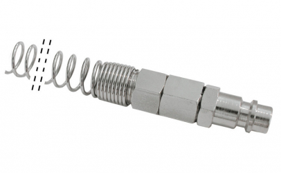 Conector tata furtun cu arc 10x6 mm