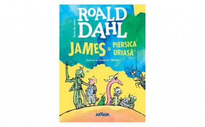 James si piersica uriasa Roald Dahl