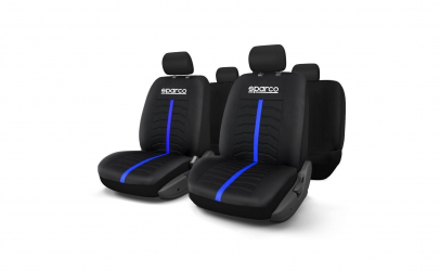 Huse scaune SPARCO BLUE