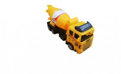 Camion tip betoniera , galben ,22x 13 cm