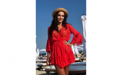Cardigan Volitys Red