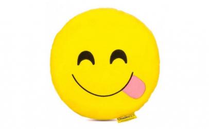 Perna decorativa Emoji Happy Face