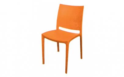 Scaun gradina terasa culoare orange