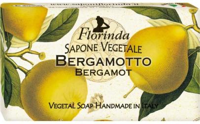 Sapun vegetal cu flori de bergamota
