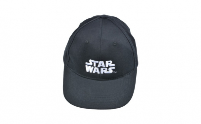 Sapca Star Wars, logo alb brodat,
