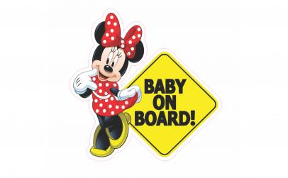 Baby on board Minnie
