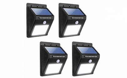 Set 5 lampi solare, 25 LED