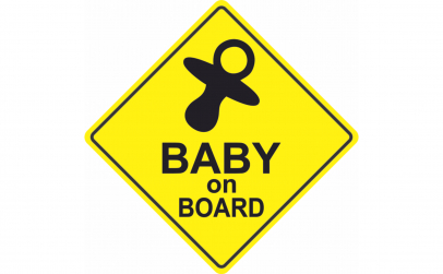Baby on board Suzeta