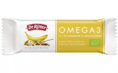 Baton Bio cu Omega 3, 40g Dr. Ritter