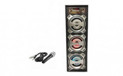 Boxa Bluetooth KTS-681 B, microfon cadou