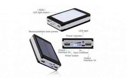 Baterie externa dreptunghiulara 20.000